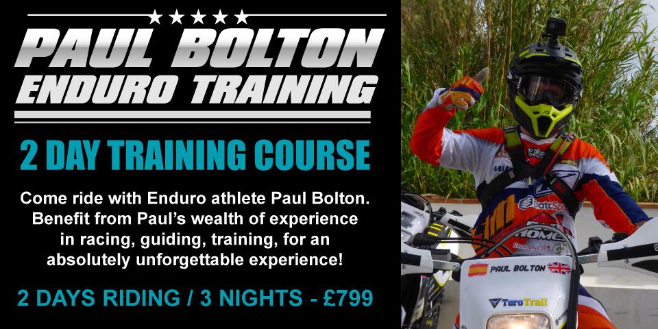 Paul Bolton Enduro training course